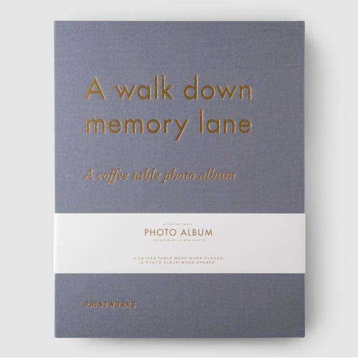 A Walk Down Memory Lane, Photo Album