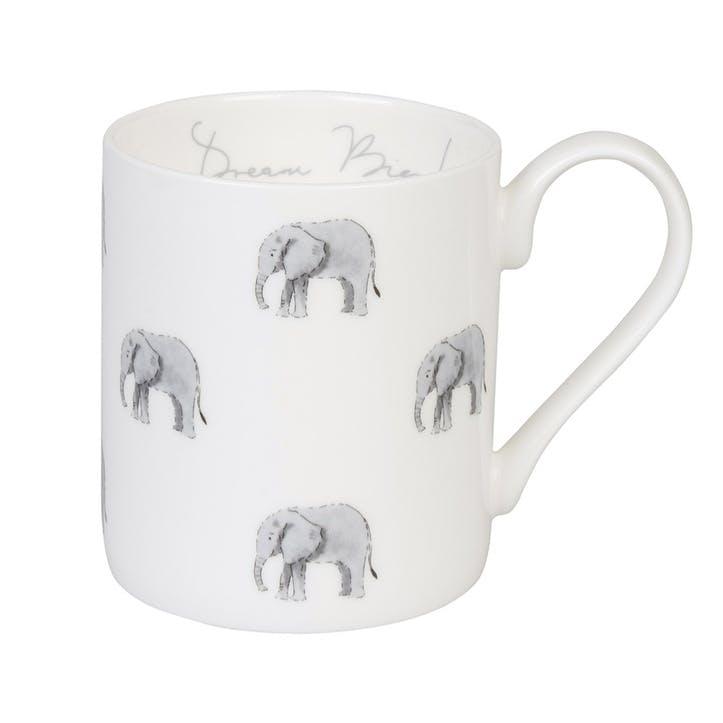 ZSL 'Elephant' Dream Big Mug - Standard