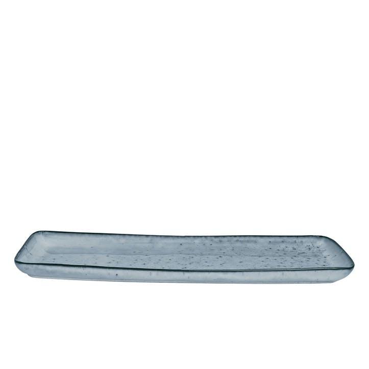 Jewel Stripe Rectangular Serving Platter