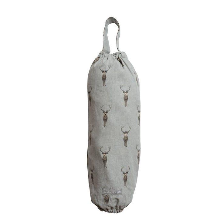 'Highland Stag' Carrier Bag Holder