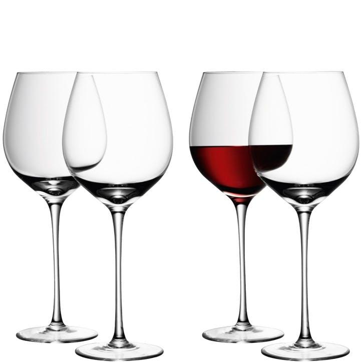 LSA Wine Red Wine Glass 700ml, Set of 4