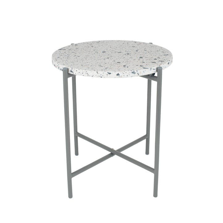 Borgen Side Table, Large, Grey