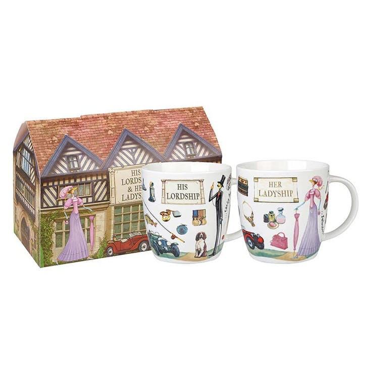 At Your Leisure Lord & Lady Mug Set