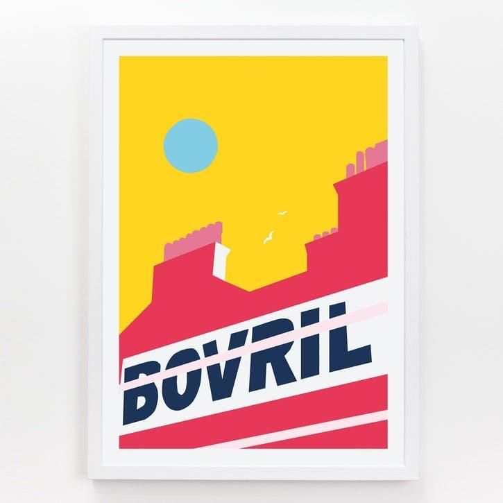 Location Brixton Bovril Print, A3