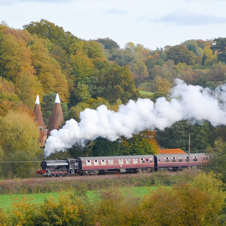 Spa Valley Railway Trip and Afternoon Tea for Two