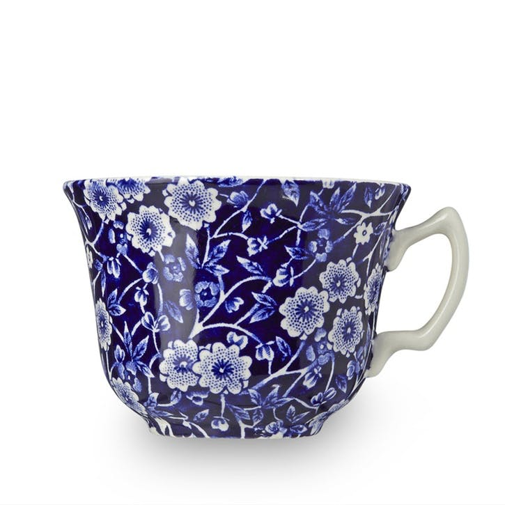 Calico Teacup, 187ml, Blue