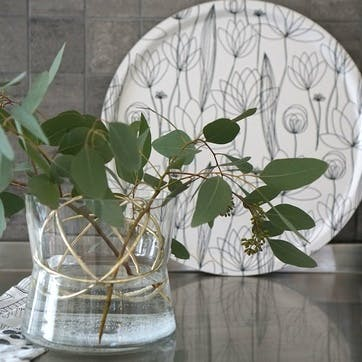 Sphere Vase Large, Gold