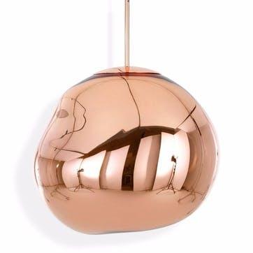 Melt Pendant Light - 50cm; Copper