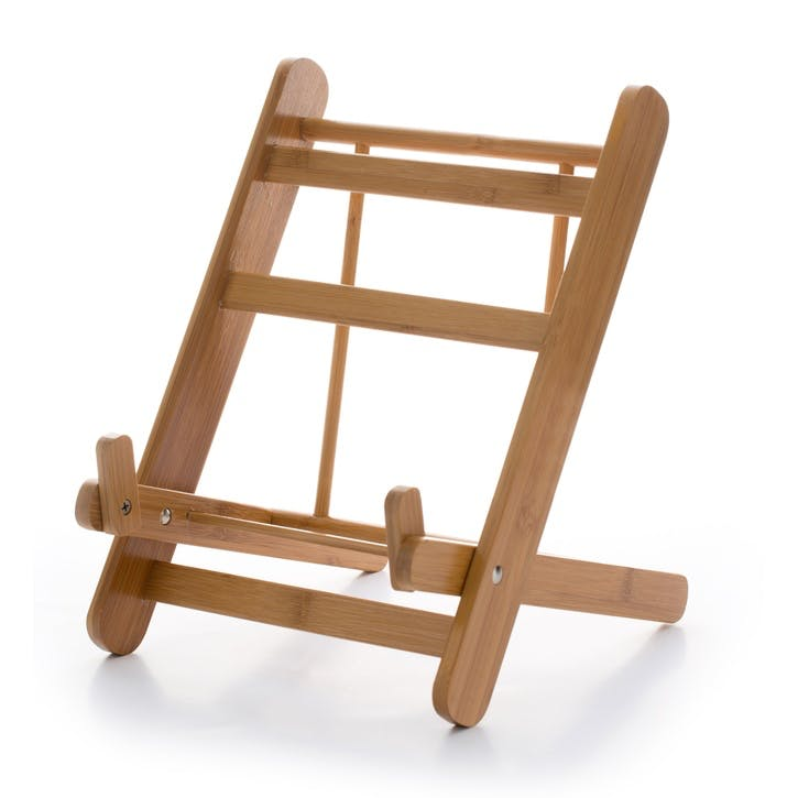Bamboo Folding Cookbook/Tablet Stand