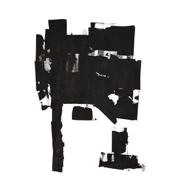 Tree Study No 02, Malene Birger Art Print