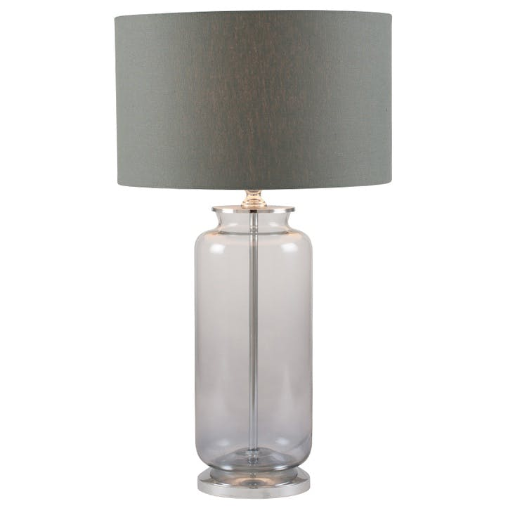 Ombre Table Lamp; Grey