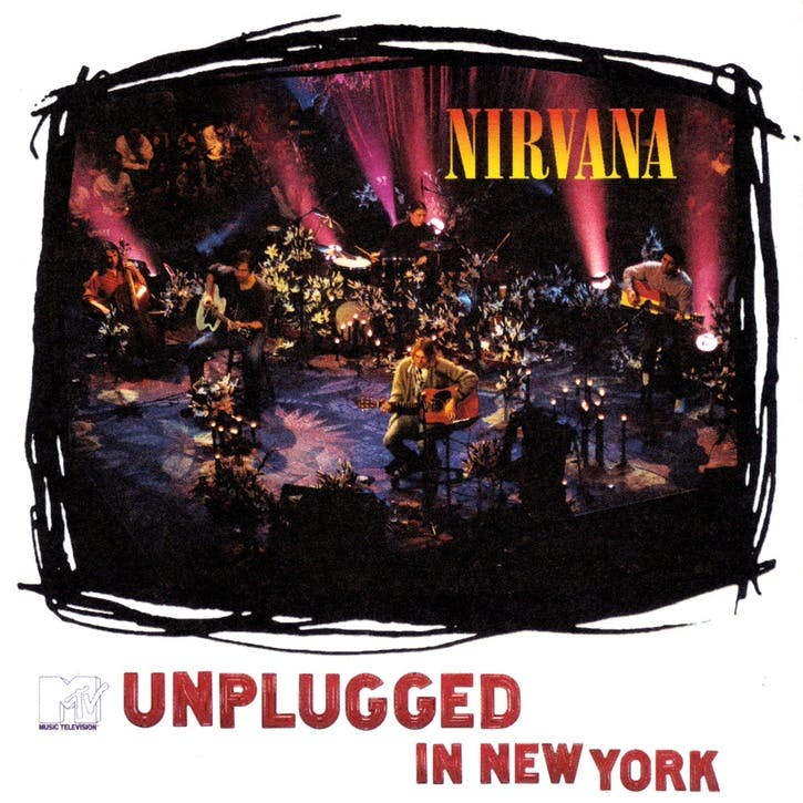 "Nirvana, MTV Unplugged in New York 12"" Vinyl"