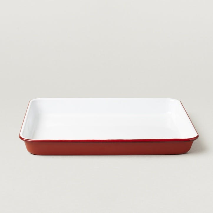 Tray, Pillarbox Red