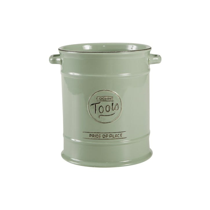 Pride of Place Cooking Tools Jar, Old Green