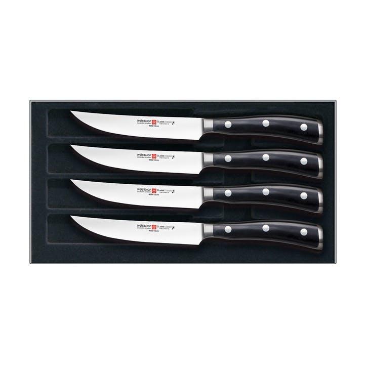 Classic IKON 4 Piece Steak Knife Set