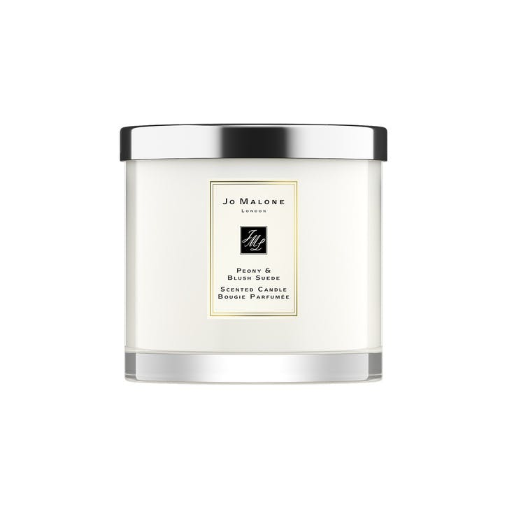 Deluxe Candle, Peony & Blush Suede