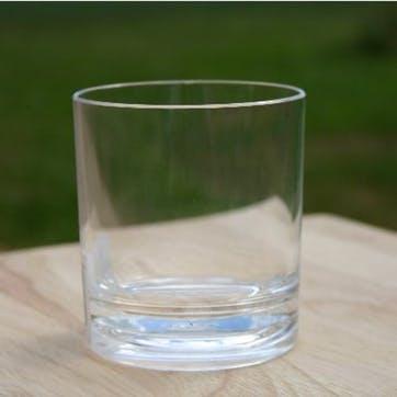 Acrylic Old Fashioned Tumbler, Set Of 4, 355ml