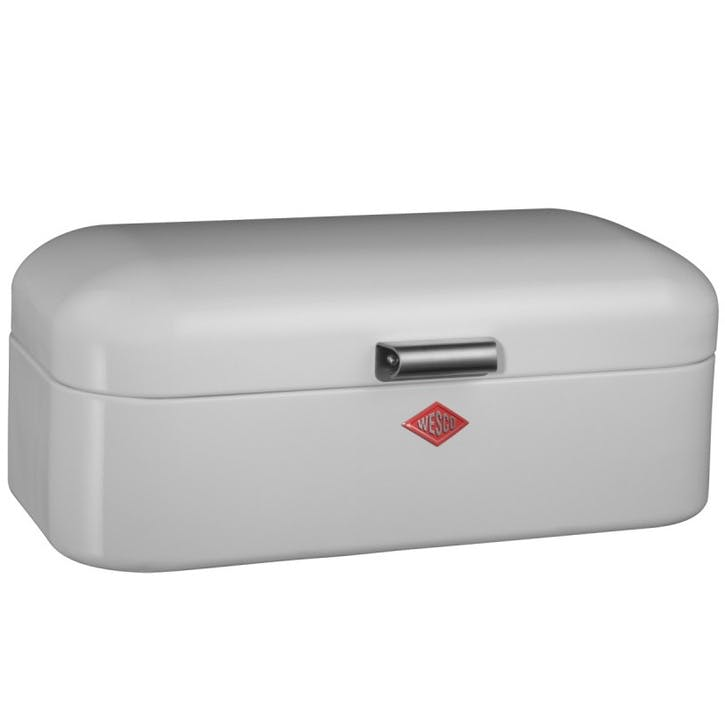 Grandy Bread Bin, White