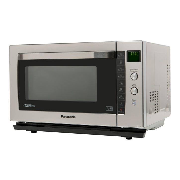 Panasonic Inverter Combination Oven 1000W, Chrome