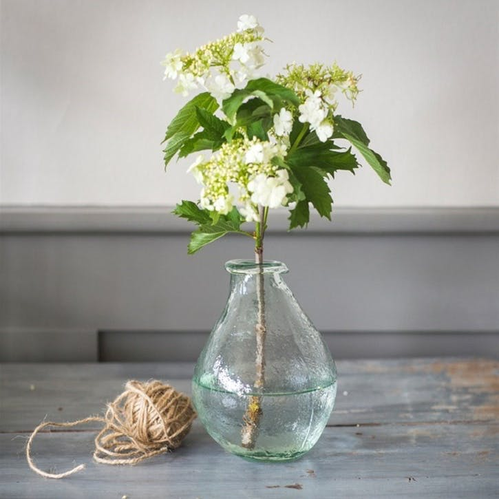 Recycled Glass Vase, Small