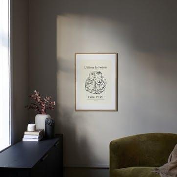 Poesie, Lucrecia Rey Caro Art Print