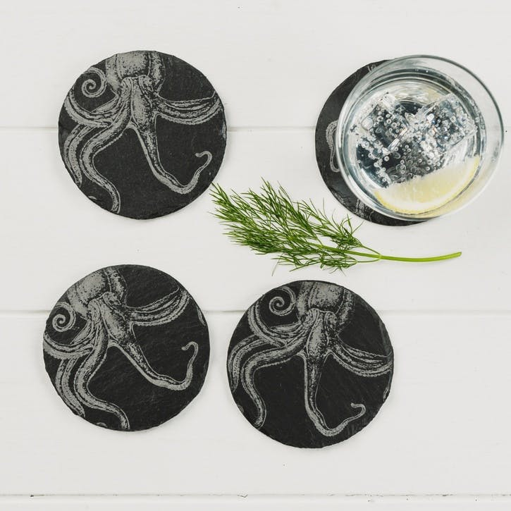 Octopus Coaster, Set of 4