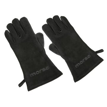 Left Hand Fire Glove, Black