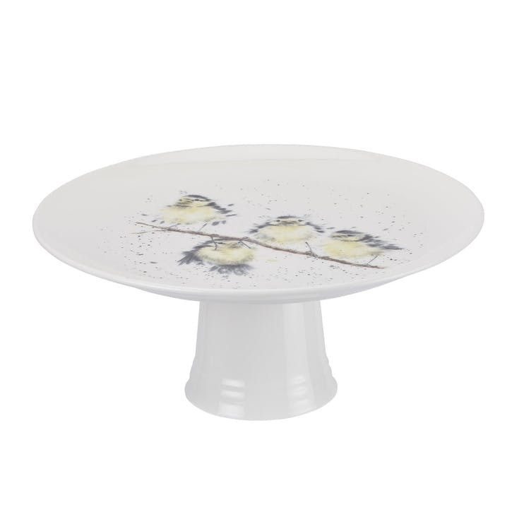 Wrendale Footed Cake Stand; Birds