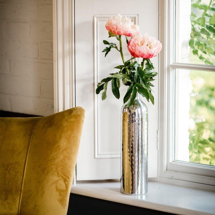 Silver Tulip Vase - Small