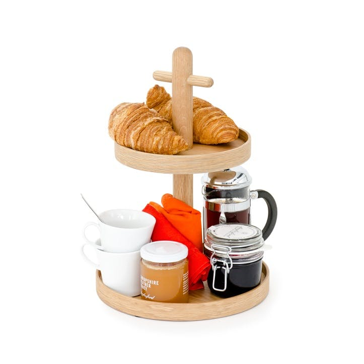 Two-Tier Tray