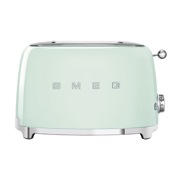 2 Slice Toaster, Pastel Green