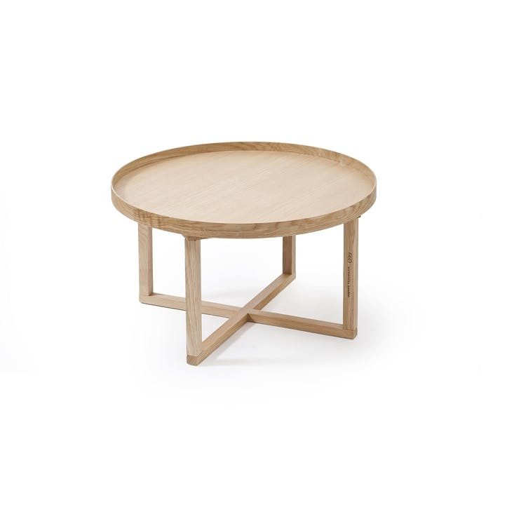 66D Round Table, Oak