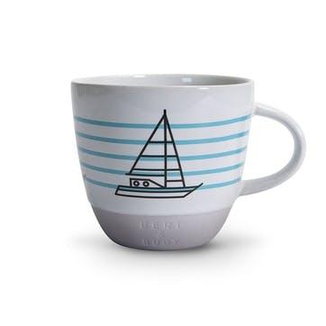 Mug, Boat, 330ml