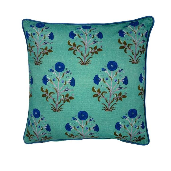 Samode Rose Cushion, Agath