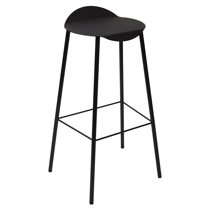 Flamingo High Stool, Black