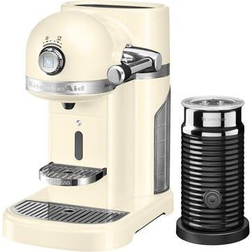 Artisan Nespresso With Aeroccino; Almond Cream