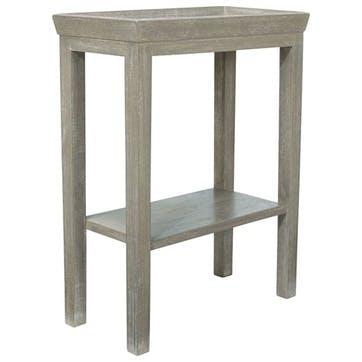 Gustavian Wooden Side Table, Silver Birch