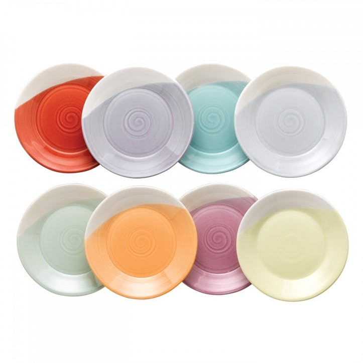 1815 Brights Tapas Plate, Set of 8