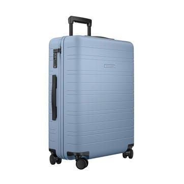 H6, Medium Check-In Trolley Suitcase, W46 X H64 X D24cm, Blue Vega