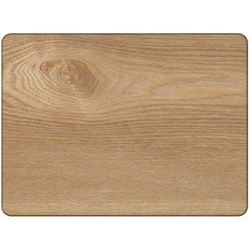 Naturals Oak Veneer Mats, Set of 4