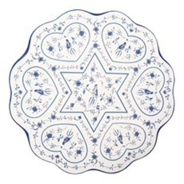Hearts Seder Plate