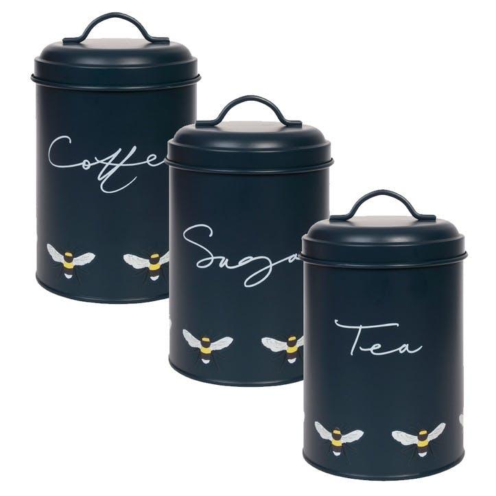 'Bees' Storage Tins, Set of 3