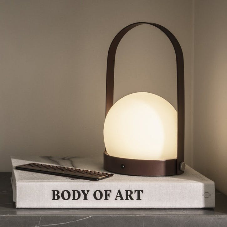 Carrie, Table Lamp, H25cm, Burned Red