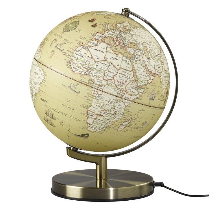 """Globe Light 10"""", Vintage"""