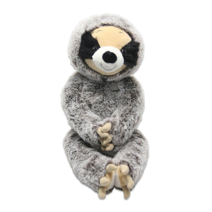 Plush Sloth Dog Toy