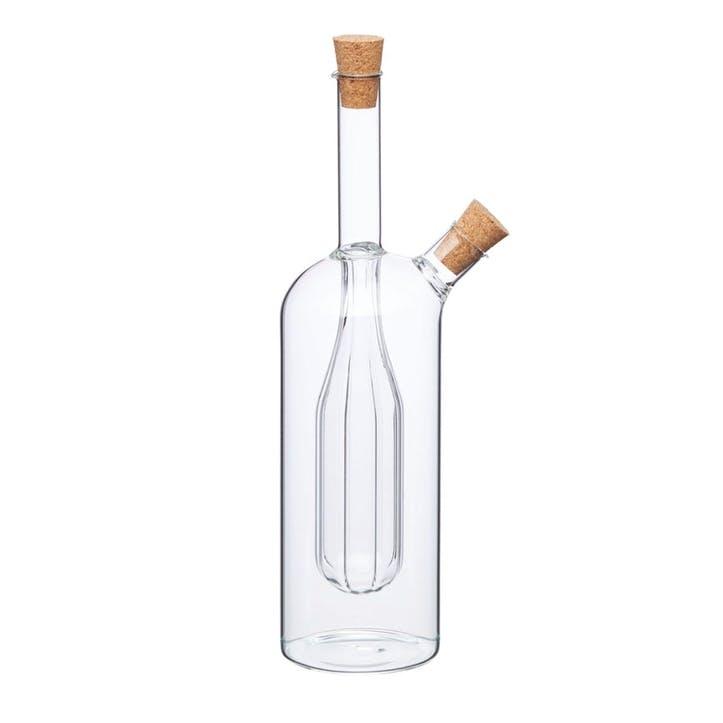 World of Flavours Italian Dual Oil and Vinegar Bottle