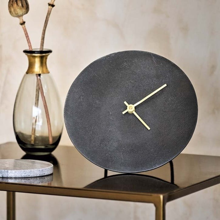 Okota Standing Clock, Black