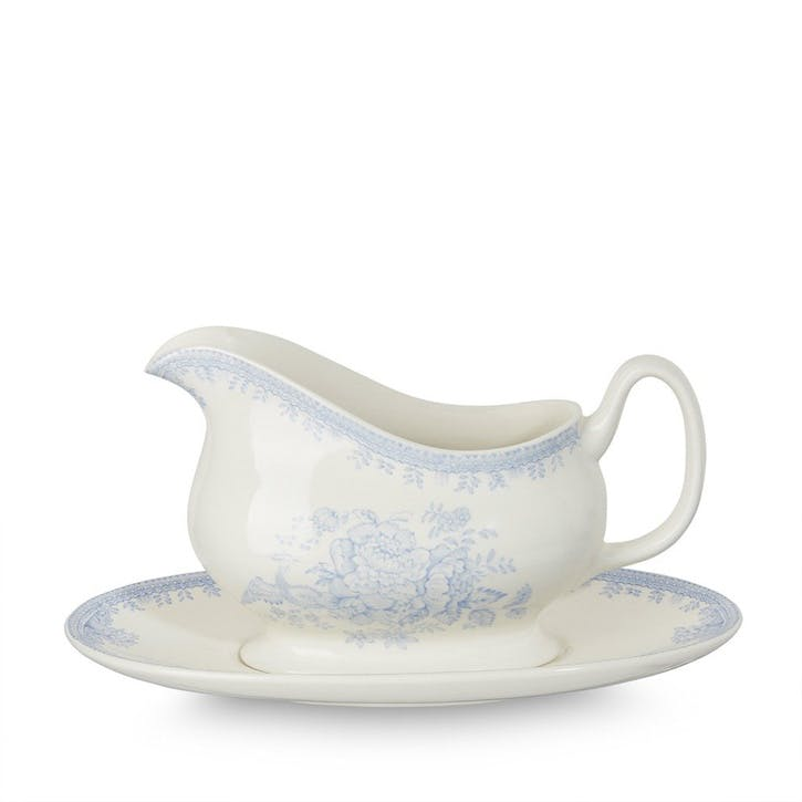Asiatic Pheasants Gravy Boat & Stand