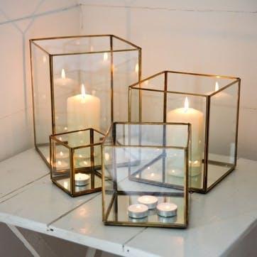 Bimala Brass Lantern - Large