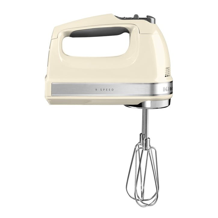 9-speed Hand Mixer; Almond Cream